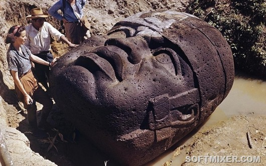 Каменные-головы-Ольмеков-5